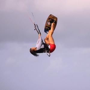kiteboarding-trick