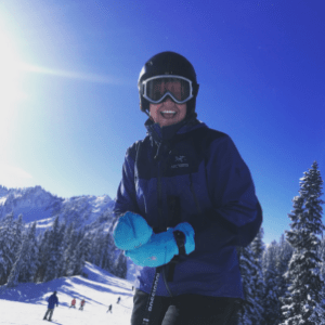 woman-skiing