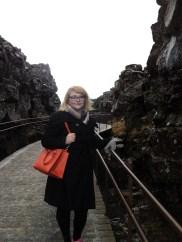 At Thingvellir National Park
