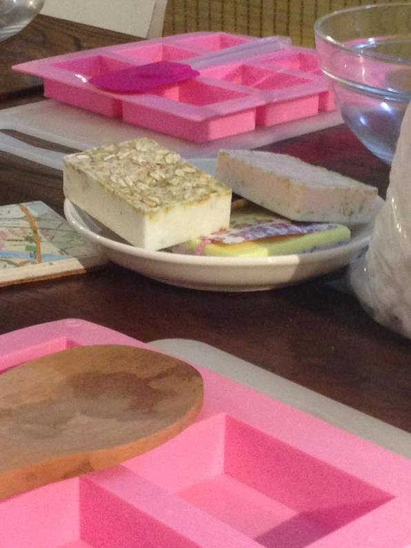 My first soap workshop in Shanghai