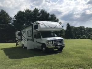 The Adventure Travelers RV in Field