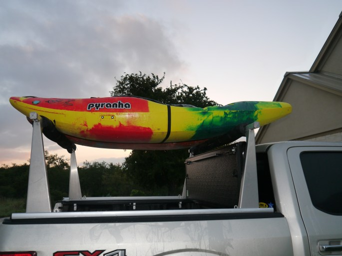 Kayaks on top
