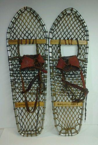 old snowshoes