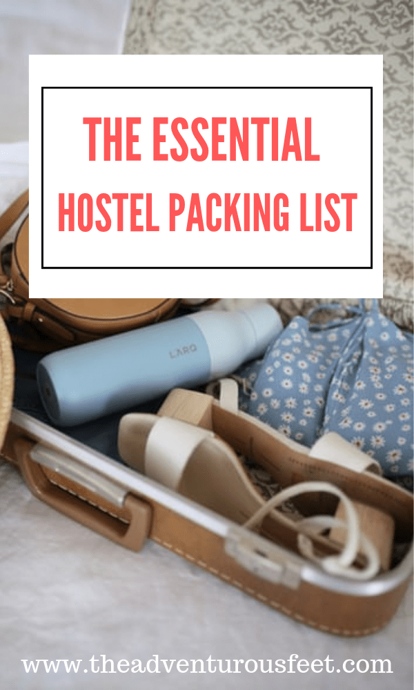 planning on staying in a hostel? Here is the essential packing list you'll need before you go.|hostel packing list travel essentials |hostel packing list tips |things required for a hostel |what to pack for a hostel stay |things to be bring to hostel | #hostelpackinglist #packingforahostel #packingtips