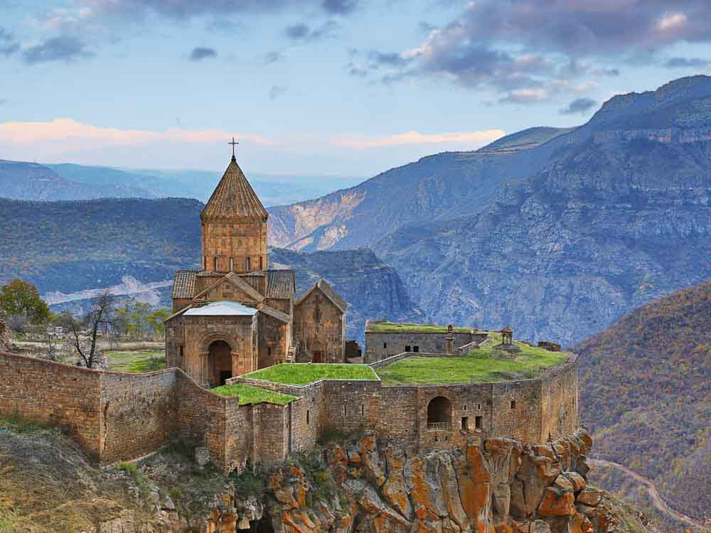 Armenia is the cheapest place to travel in Asia