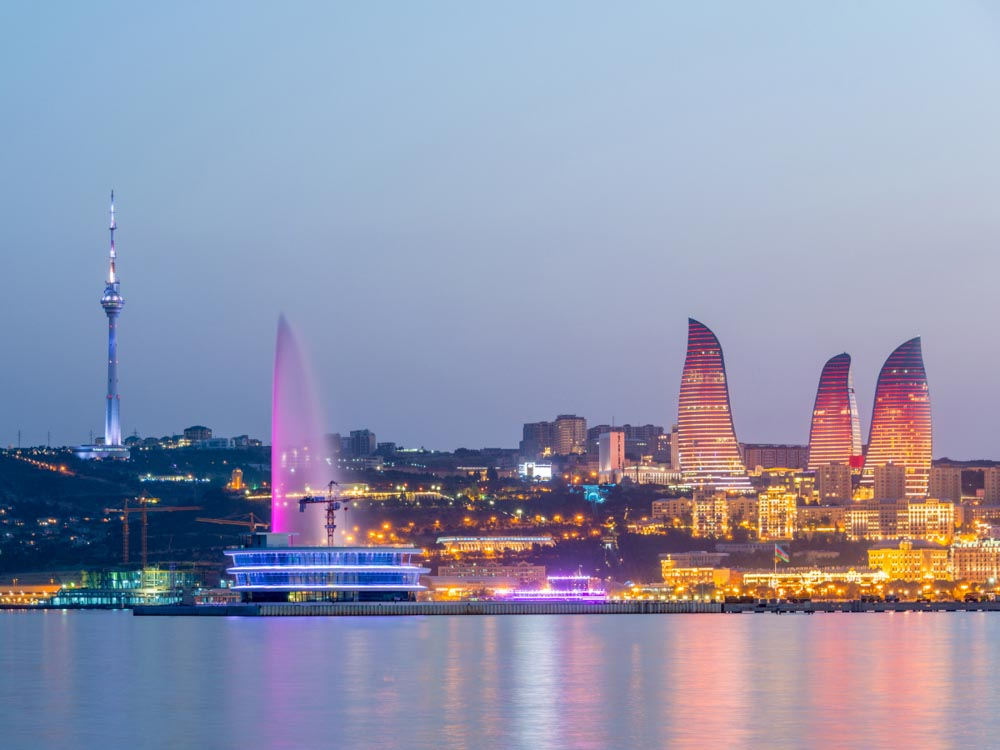 Azerbaijan is one of the cheap countries to visit in Asia