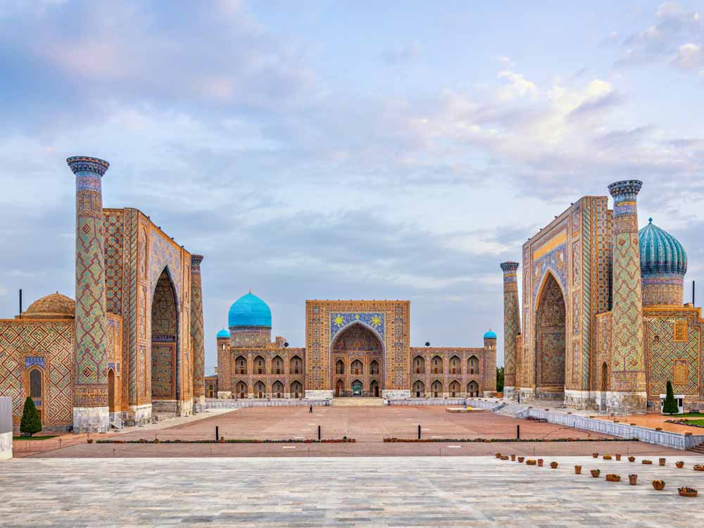 Uzbekistan is one of the cheap places to travel Asia