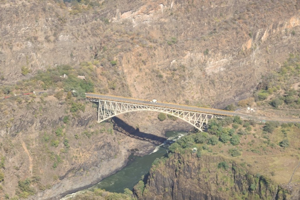 Going for a Bridge Tour is one of the things to do at Victoria Falls