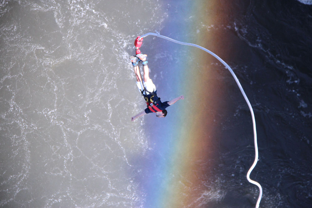 Bungee Jumping is one of the best Victoria Falls activities
