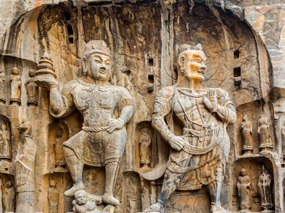 Longmen Grottoes is one a famous Chinese monument not to miss