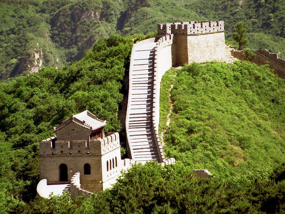 The Great Wall of China is the most famous landmark in China