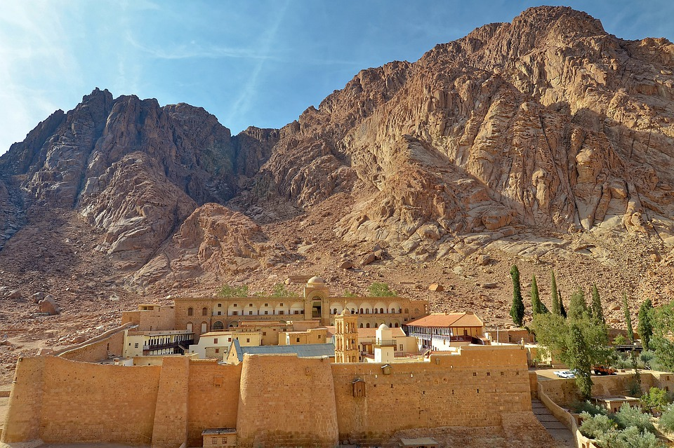 Monastery of St Catherine is one of the famous Egyptian landmarks