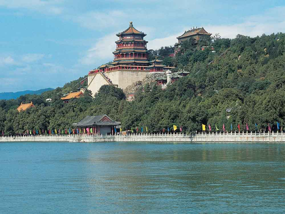 The Summer Palace is one of the famous landmarks in China