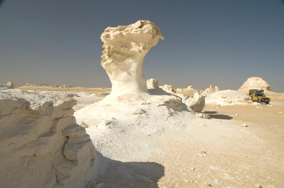 white desert is an Egypt landmark not to miss