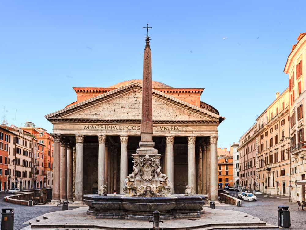 Pantheon in Rome is another European landmark not to miss