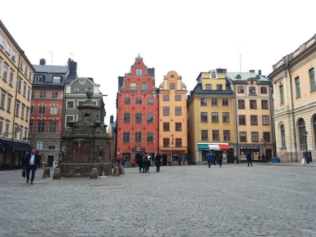 Stockholm, Sweden in winter (1)