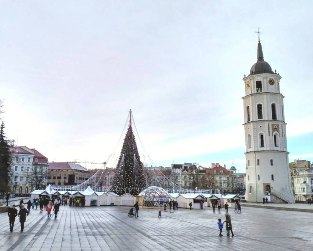 Vilnius, Lithuania- where to go in europe in winter