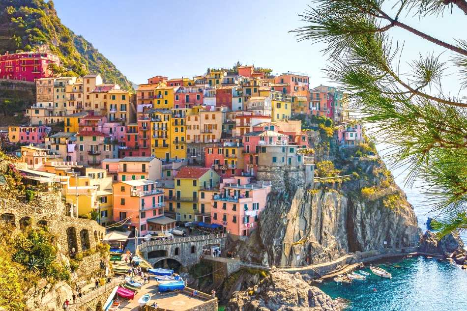 Cinque Terre is one of the romantic city breaks in Europe