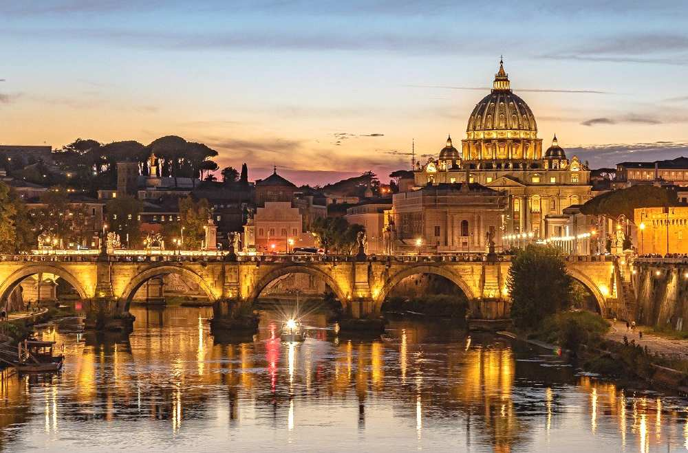 Rome, Italy is one of the most romantic places in Europe