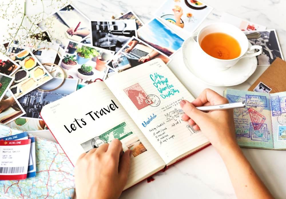 how to transform postcards into home decor