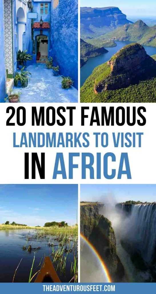 Looking for places to visit in Africa? Here are the most famous African landmarks not to miss. | top African landmarks| famous African monuments| famous monuments in Africa| famous landmarks of Africa| Africa landmarks to visit| historical places in Africa| best places to visit in Africa| beautiful places in Africa| Best places to travel in Africa| tourist attractions in Africa| Africa bucket list travel| Africa places to visit | famous landmarks in Africa| Famous landmarks to visit in Africa