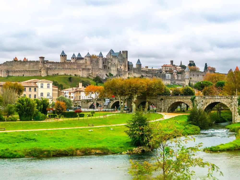 Cite de Carcassonne is one of the France famous landmarks