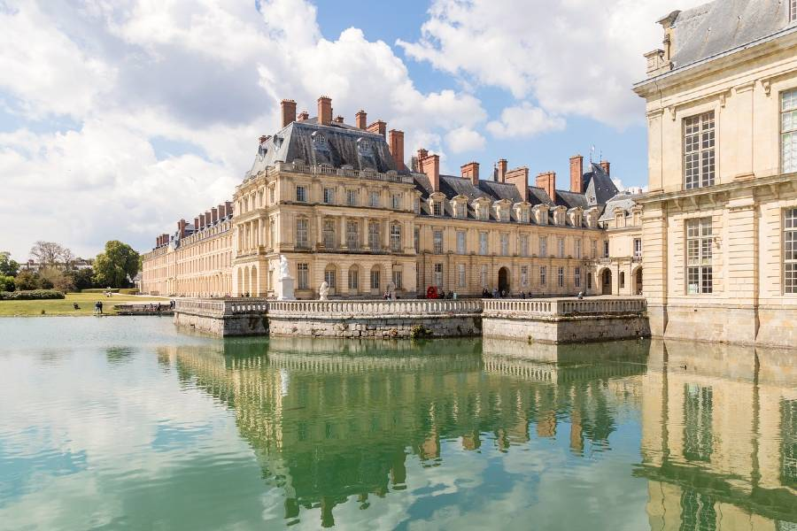 Fontainebleau Castle  is one of the famous French monuments