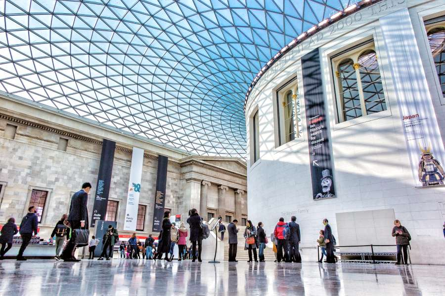 The British Museum in London is one of the best museums in Europe