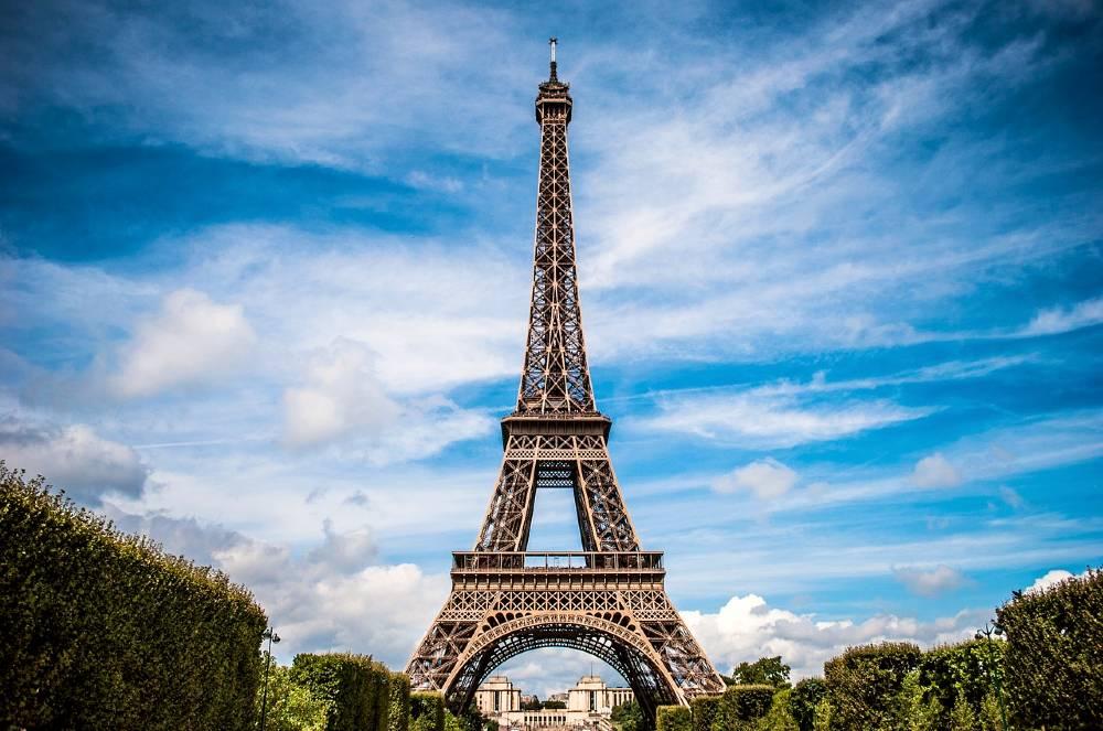 The Eiffel Tower is the most famous landmark in France