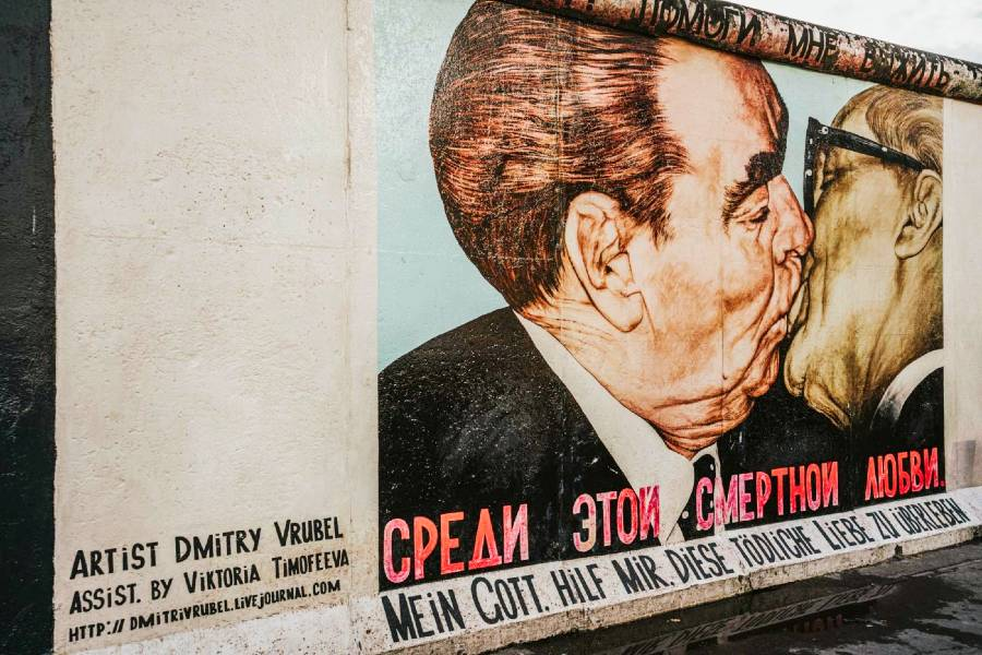 The East Side Gallery Museum, Berlin is one of the best European museums