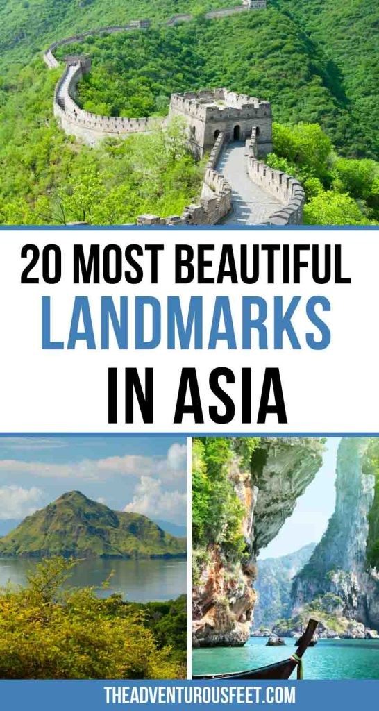 Looking for places to visit in Asia? Here are the famous Asian landmarks to add to your Asia bucket list.| famous landmarks in Asia| famous monuments in Asia| famous landmark of asia| famous Asia landmark| Southeast Asia landmarks| famous buildings in Asia| famous Asian buildings| natural landmarks in Asia | Asian monuments| famous places in Asia| Asian landmarks to visit| best places to visit in Asia| best Asia travel places | Asia destinations| famous monuments of Asia| Travel Asia places