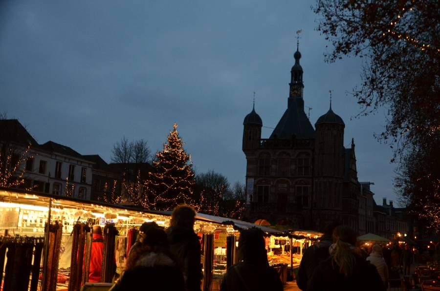 Deventer, The Netherlands at christmas