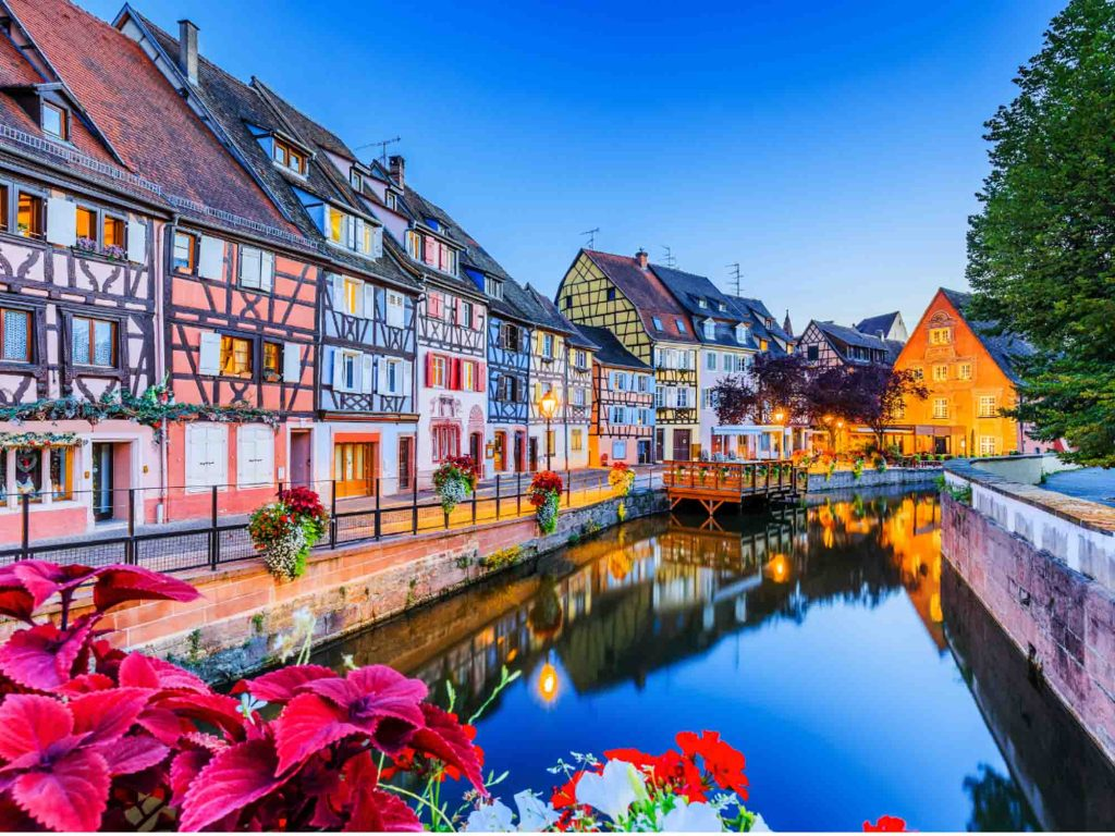 Colmar is one of the most beautiful cities in France