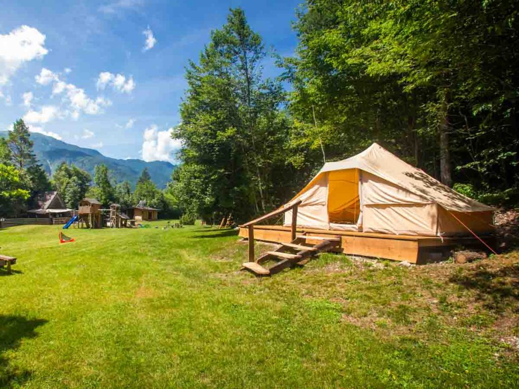 Glamping is one of the best bucket list for summer ideas