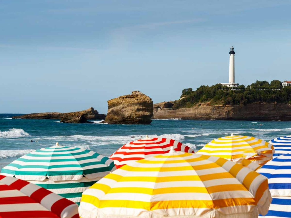 Grande Plage is one of best beaches in south of France