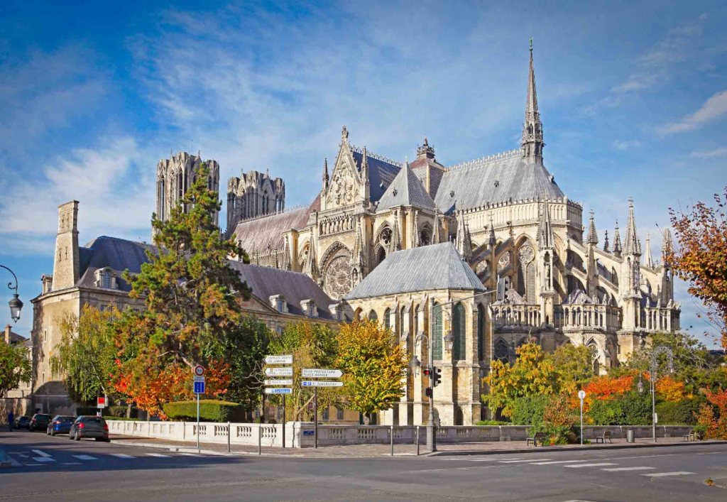 Reims is one of the cities in France known for its champagne