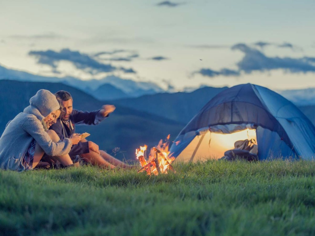 Camping is one of the bucket list ideas for summer