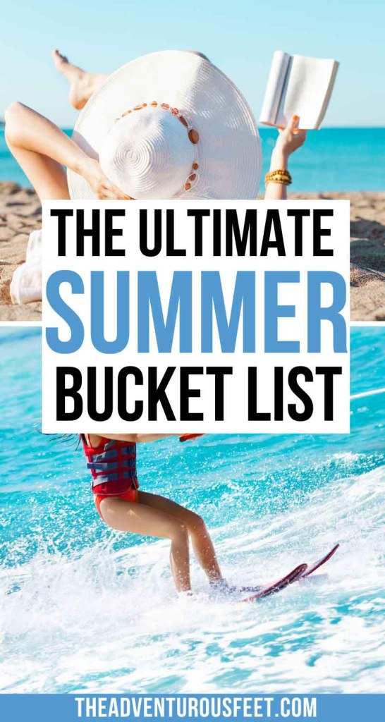 Are you looking for things to do this summer? Here is the ultimate summer bucket list with ideas that will inspire you.   ultimate summer bucket list ideas  summer travel bucket list  summer vibes adventure bucket lists travel  things to do in summer  what to do in summer list  ideas for a summer bucket list  bucket list ideas for summer  adult summer bucket list ideas  summer ideas with friends bucket lists  bucket list for summer 2021  bucket list for summer with friends  crazy summer bucket list ideas  fun summer ideas for travelers