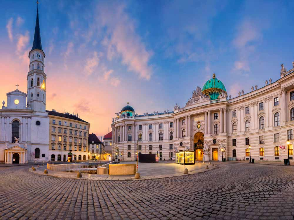 Vienna is one of the beautiful capitals for Europe