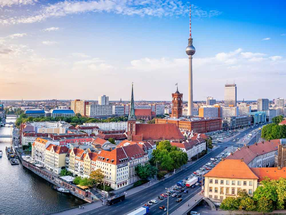 Berlin is one of the best capitals cities of Europe