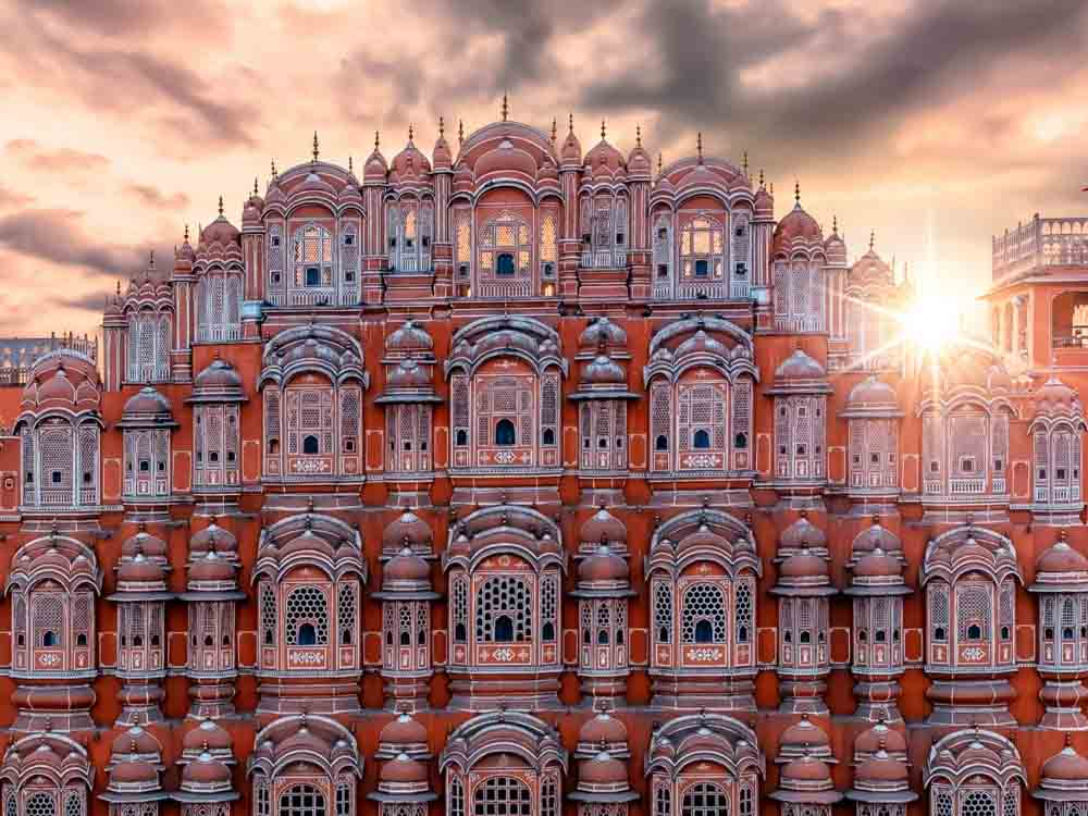Hawa Mahal is one of the famous monuments in india