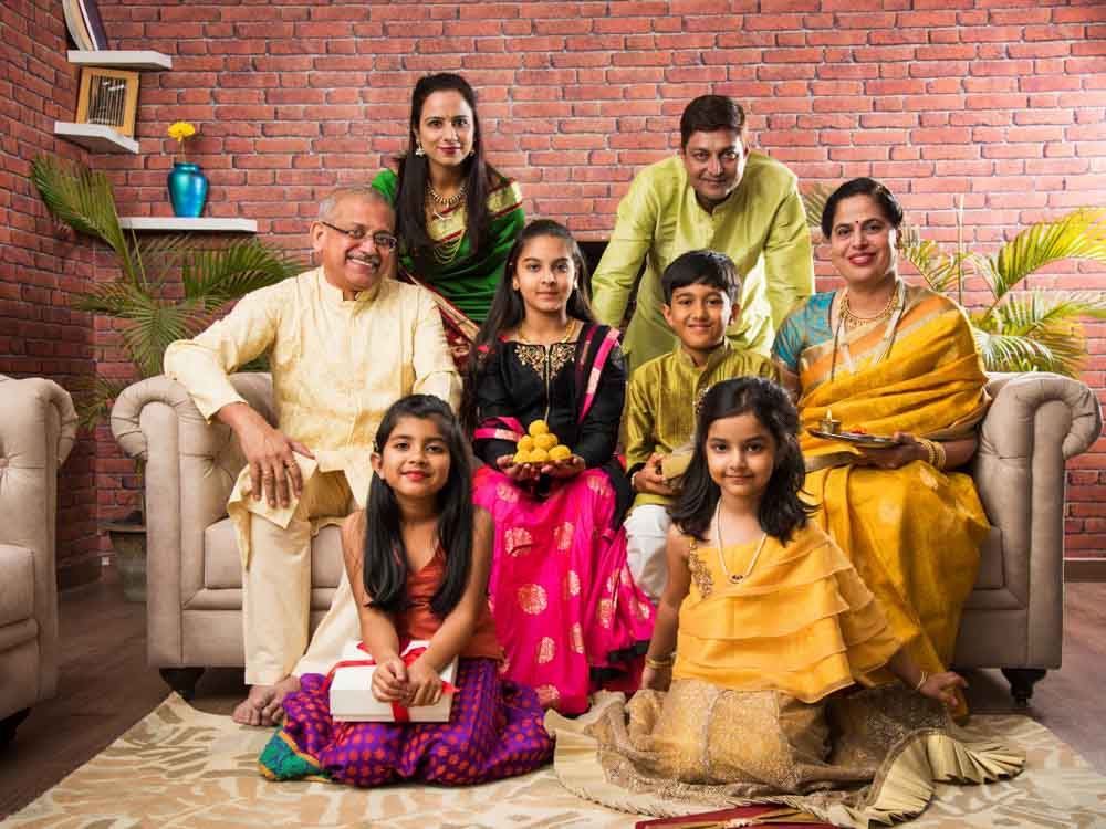 India is famous for having great family bonds