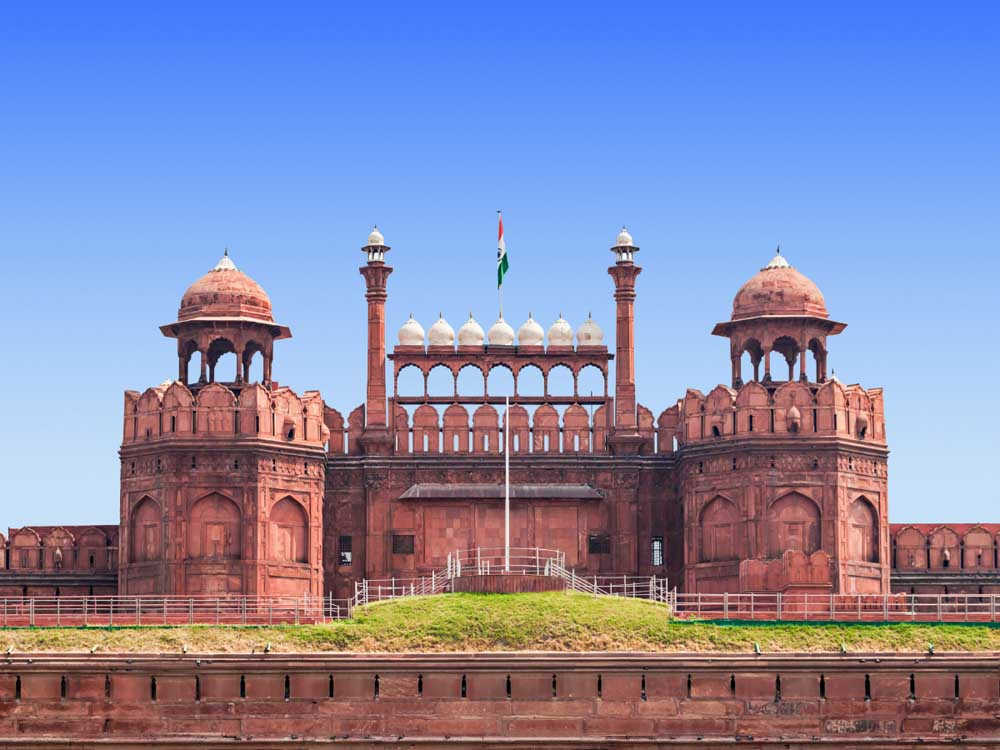 Red Fort is one of the indian historical monuments