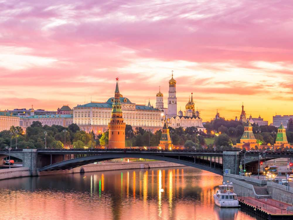Russia - Capital, Moscow