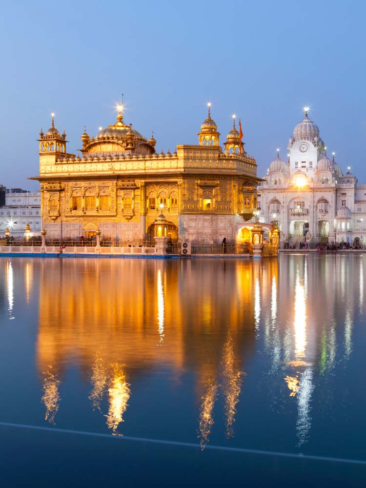 The Golden Temple is one of the famous landmarks of india