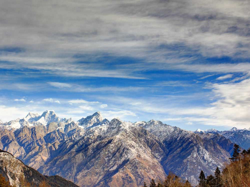 The Himalayas are some of the famous things in India