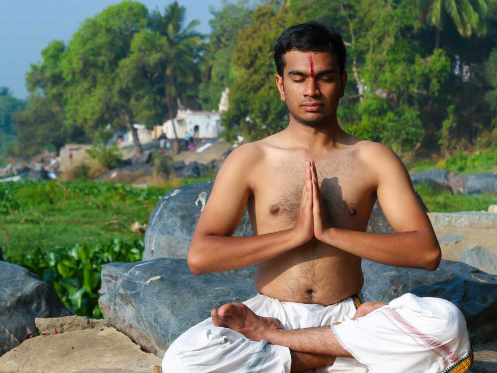 Yoga is one of the things associated with India