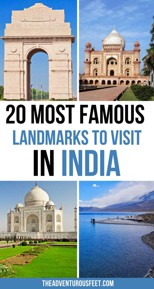 Looking for places to visit in India? Here are the most famous landmarks in India that you shouldn't miss out on.   India famous landmarks  famous monuments in India  famous India landmarks  famous Indian buildings  famous Indian monuments  natural landmarks in India  famous landmarks of India  India landmarks  Indian landmark  historical monuments in India  Indian monuments to visit  famous places in India  famous buildings of India  historical monuments of India  India landmarks