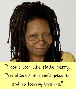 what Whoopi wears to work