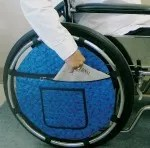 Wheelchair pouches or bags. quadriplegic gifts